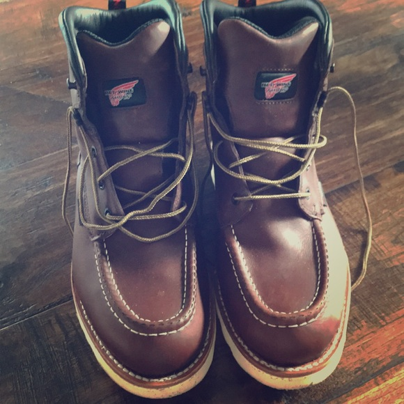 e69b2ce684b Authentic Red Wing work boots